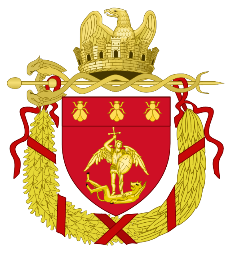 Napoleanic Heraldry Coat of Arms Honey Bees